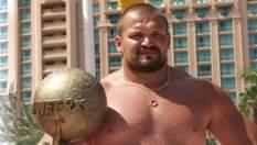 Василий Вирастюк – украинский богатырь и самый сильный человек мира