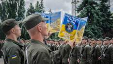 В Киеве приняли присягу около тысячи новобранцев Нацгвардии: как это было