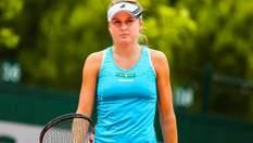 Сенсація на Roland Garros: українка Козлова обіграла минулорічну переможницю турніру