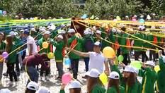 """Как детский лагерь """"Артек"""" отпраздновал 93-ю годовщину: яркое видео"""