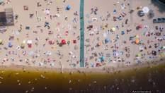 Летний Киев с высоты птичьего полета: яркий фоторепортаж