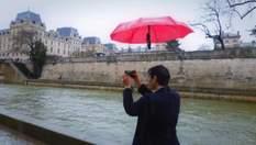 Dronebrella – зонт, который сам летает за своим владельцем