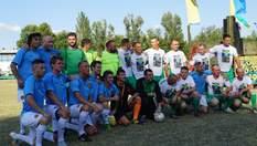 Українські зірки зіграли у футбол з прикордонниками ООС: видовищні фото та відео