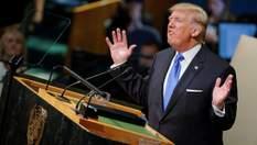 Дональд Трамп несподівано завершив виступ на Генасамблеї ООН