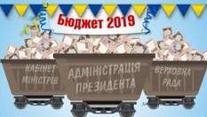 Скільки заплатять українці за утримання влади у 2019 році: величезна сума
