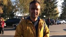 На журналіста Дмитра Гнапа вилили відро нечистот на Полтавщині: з'явилися фото