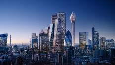 """В центре Лондона появится 300-метровый """"Тюльпан"""": футуристические фото"""