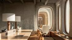 Брутальный снаружи, комфортный внутри: как выглядит офис в модернистском здании в Брюсселе