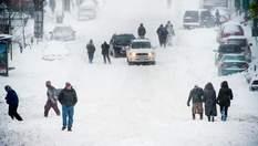 Снегопады в США: люди остались без света и тепла, отменено по меньшей мере тысячу авиарейсов