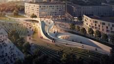 Бюро Захи Хадід спроектує станції метро в Осло: візуалізація приголомшливого проекту