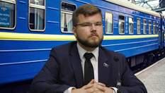 """Новий керівник """"Укрзалізниці"""": чим вже встиг відзначитися Кравцов"""