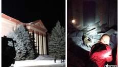 У Кривому Розі стався обвал у палаці культури: фото і відео