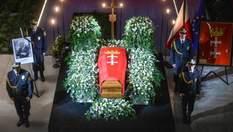 Похорон вбитого мера Гданська Адамовича у Польщі: фото та відео з церемонії