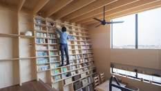 Книжкова шафа, що ніколи не впаде: японський архітектор спроектував унікальний будинок