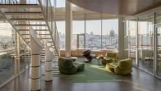 З мостом і місцями для сну: офіс Grammarly від українського Balbek Bureau
