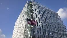 Рів, водоспад і вікна-соти: чим вражає будівля посольства США у Лондоні