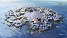 Плавуче місто майбутнього: архітектори презентували неймовірний проект
