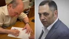 Ректор КНУ приїхав до студентів на протест та звільнив Портнова: фото та відео