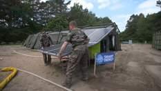Энергосберегающие палатки и система для питьевой воды: современные технологии в  НАТО