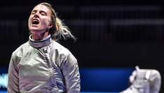 Харлан виграла чемпіонат світу з фехтування, перемігши росіянку