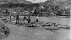 Самая опасная профессия карпатских мужчин: интересные факты о сплавщиках