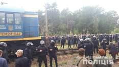 Силовий штурм блокувальників російського вугілля на Львівщині: усіх затриманих відпустили