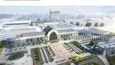Як виглядатиме центральний залізничний вокзал Києва після реконструкції: фото