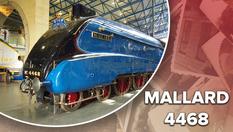 Найшвидший у світі паровоз: фото та відео потужного Mallard 4468