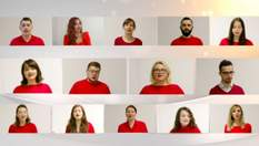 Люди из разных стран спели украинские колядки онлайн: впечатляющее видео