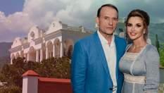Дворец Медведчука и Марченко: кому досталась роскошная дача кумовьев Путина в Крыму