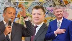 Царское село: какие состояния в самых богатых олигархов Украины