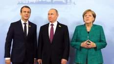 Путін набрехав Меркель і Макрону про Україну і вакцину