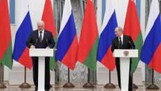 Путін готує для себе подарунок у вигляді окупації Білорусі