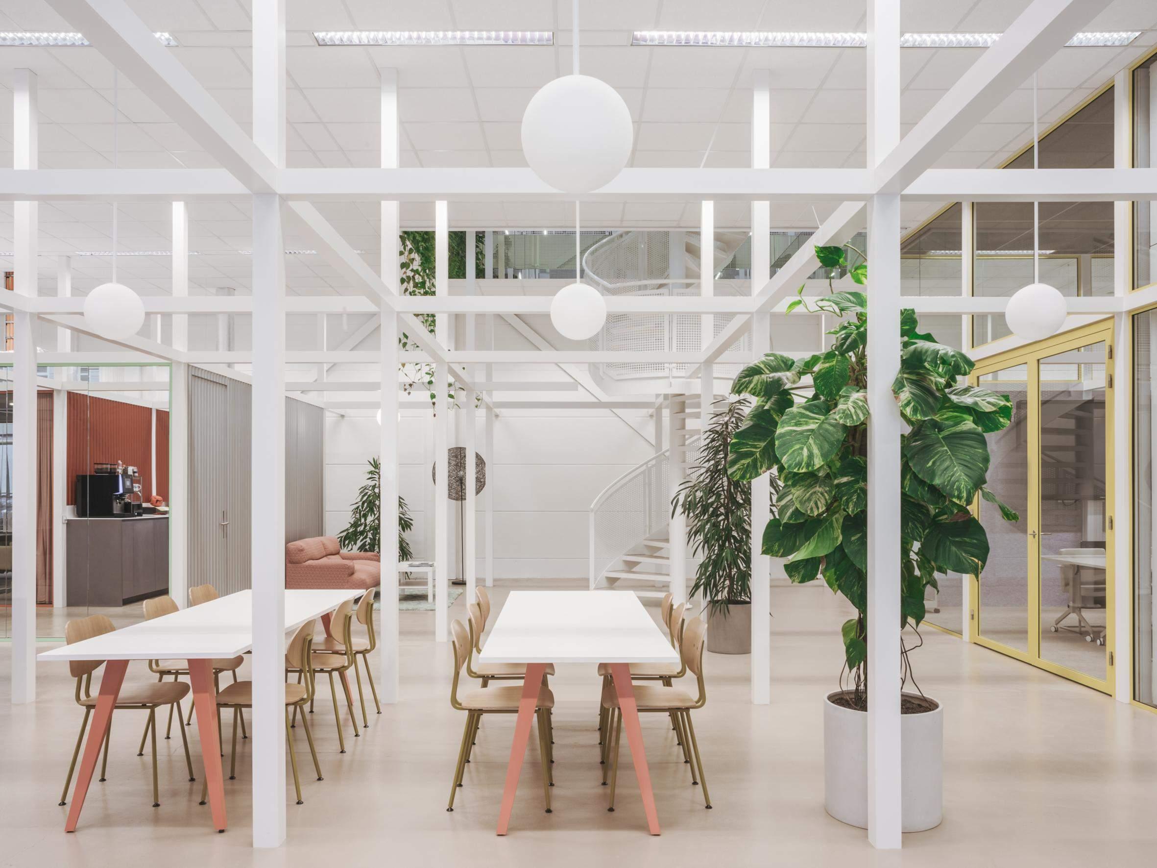 Офісний інтер'єр в Амстердамі