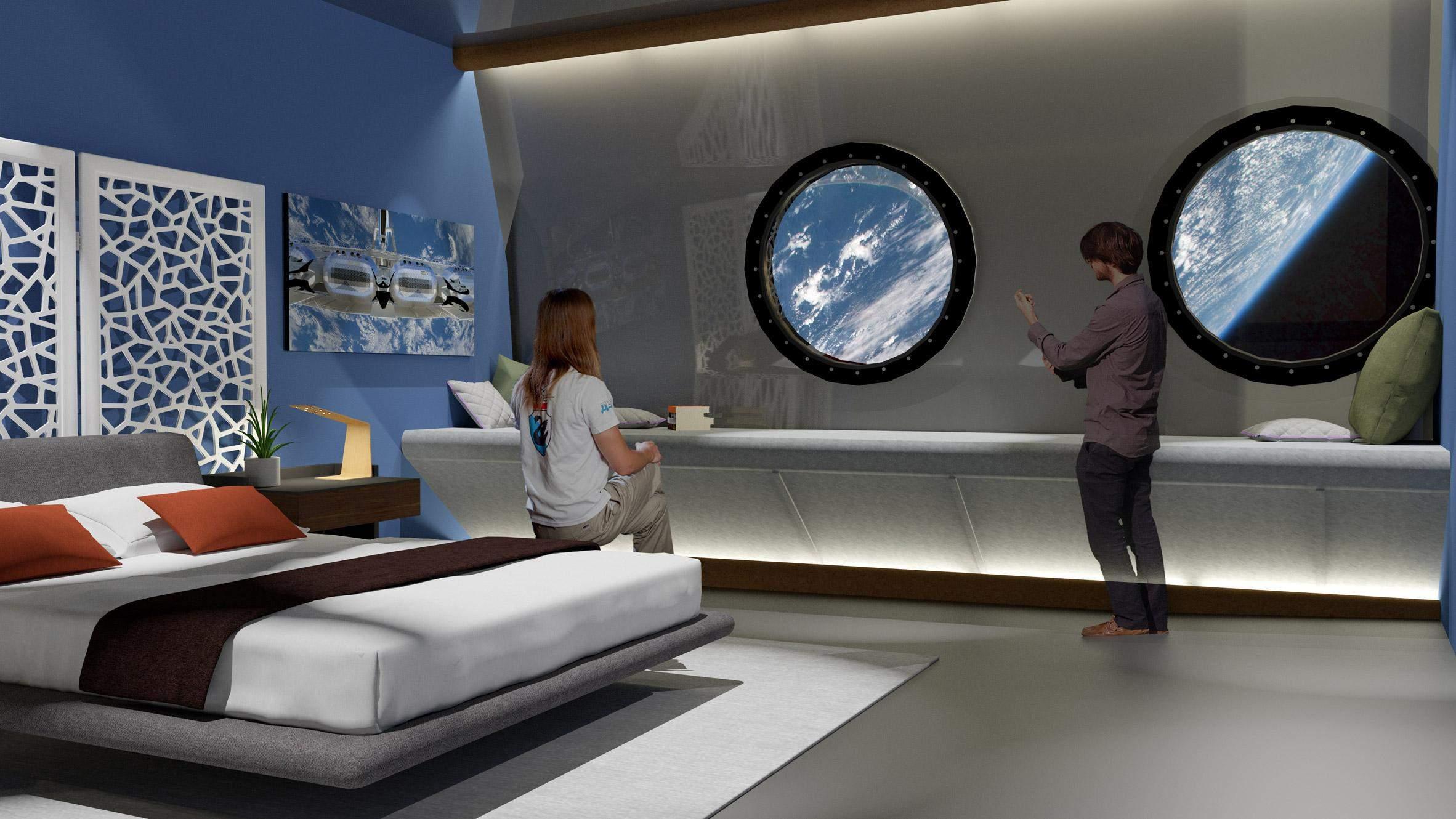 У готелі будуть розкішні вілли та окремі спальні / Фото Dezeen