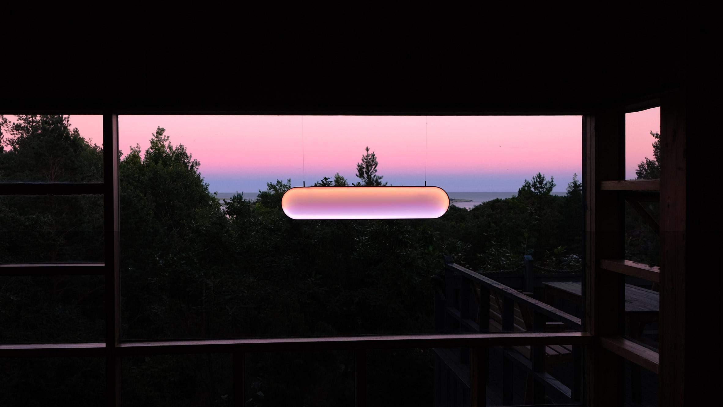 Лампа, що працює на сонячній енергії