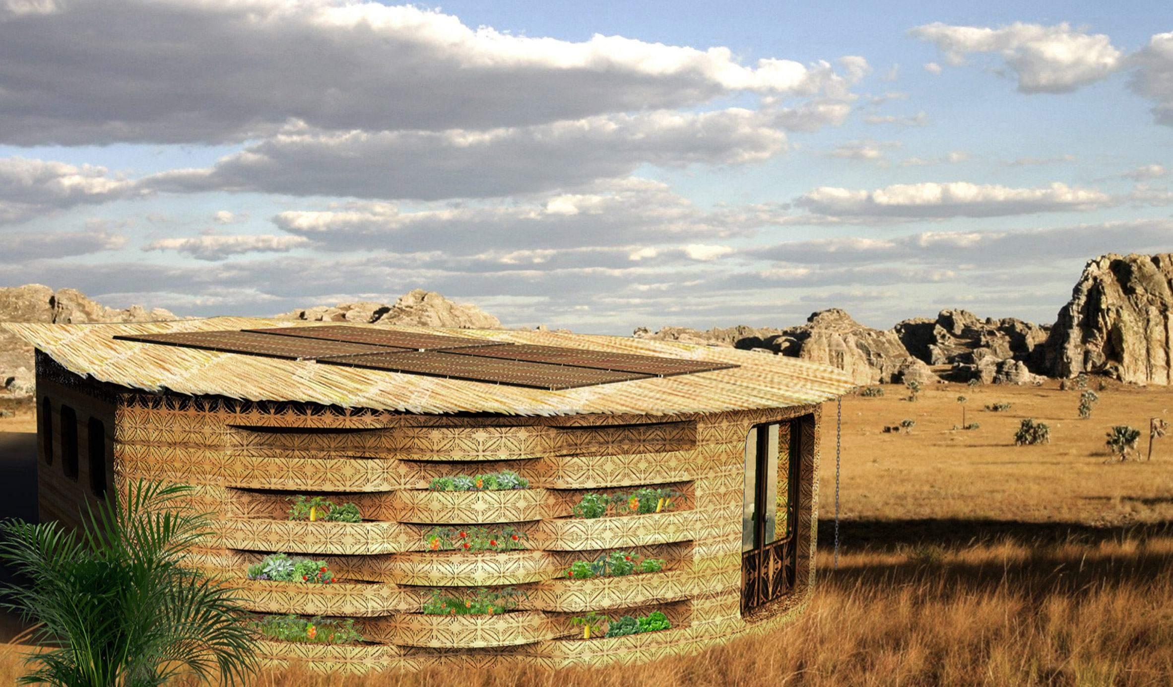 Рельєфний візерунок прикрасить стіни / Фото Dezeen