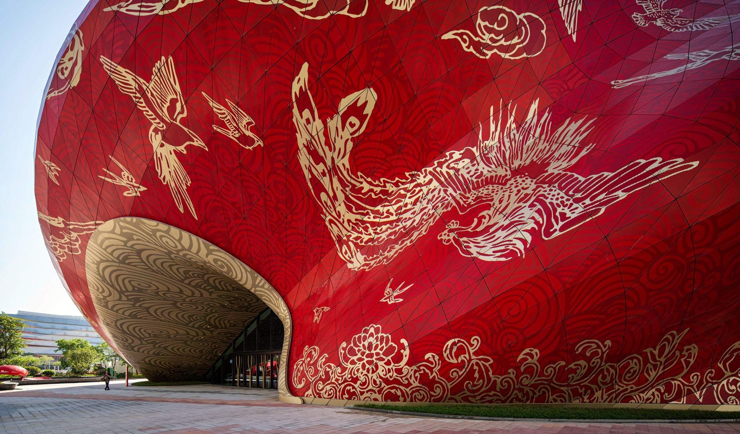 У театрі будуть представлені традиційні та сучасні види мистецва  / Фото Dezeen