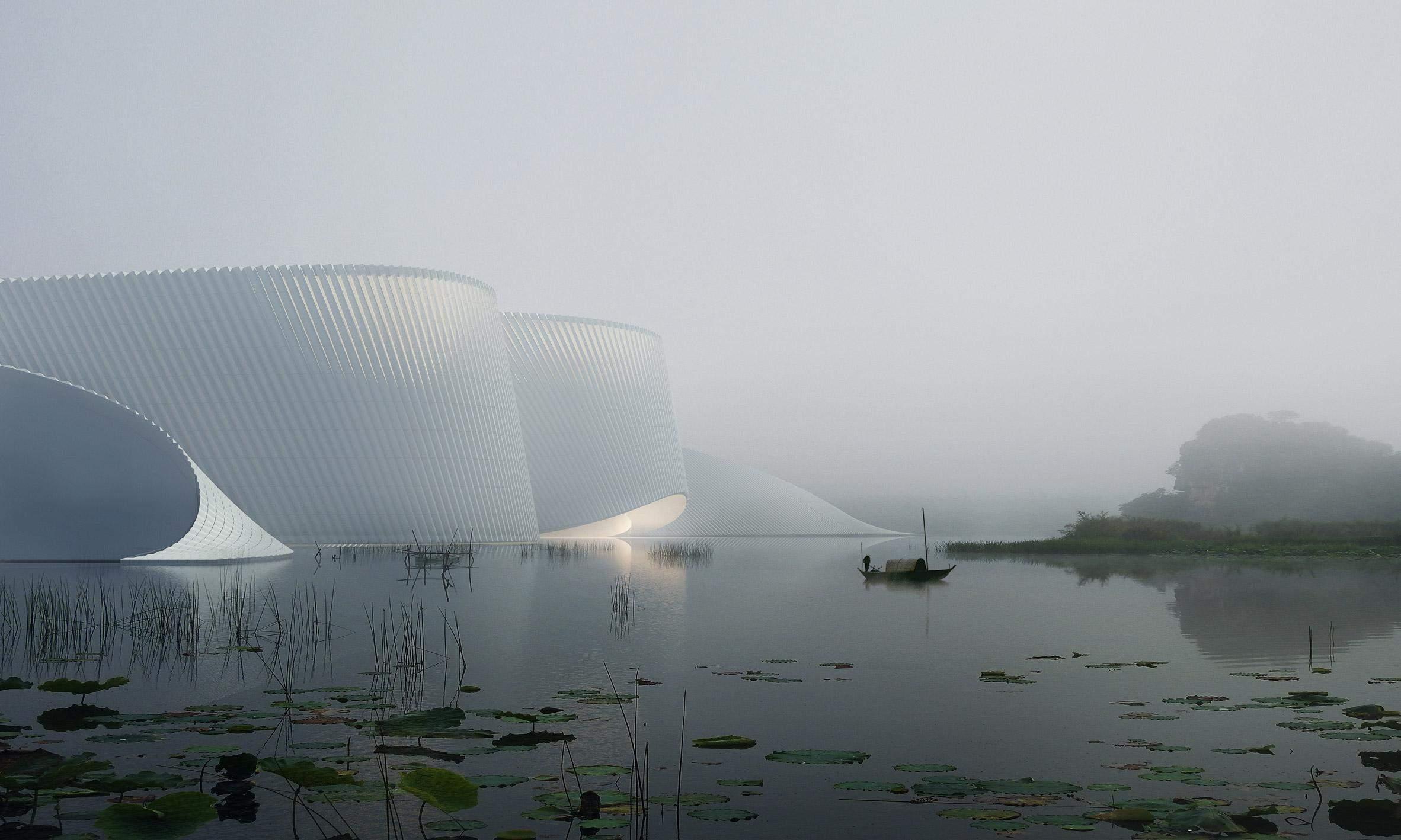 Неймовірний проєкт музею / Фото World-architects