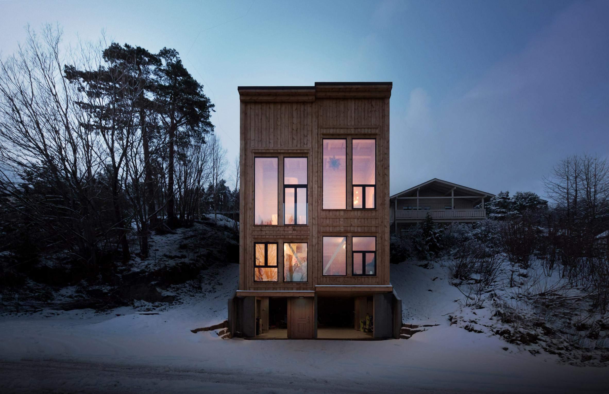 Будинок у сутінках  / Фото Dezeen
