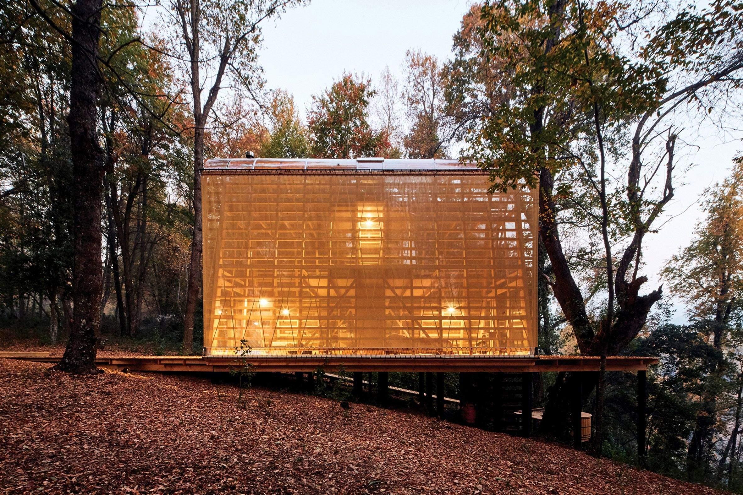 Будиночок у лісі / Фото Dezeen