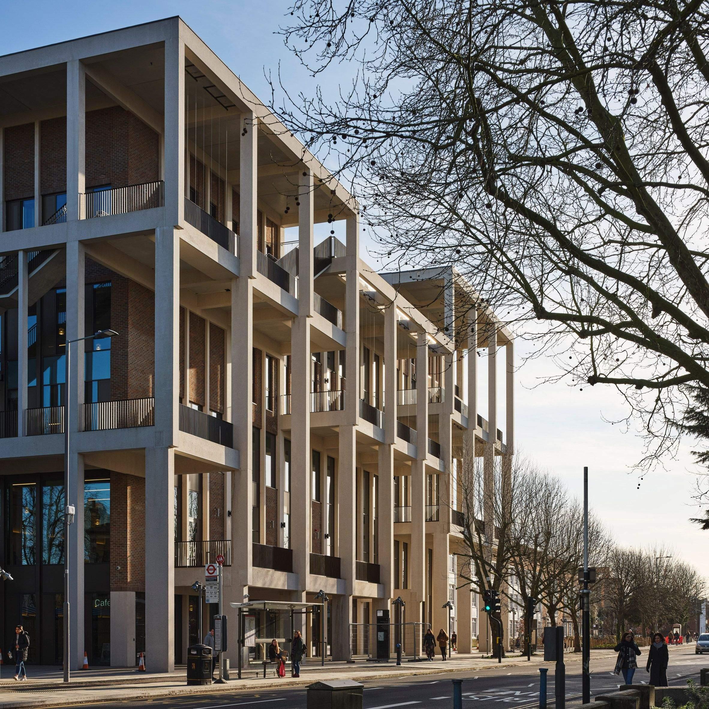 Відкрита архітектура кампусу / Фото Dezeen