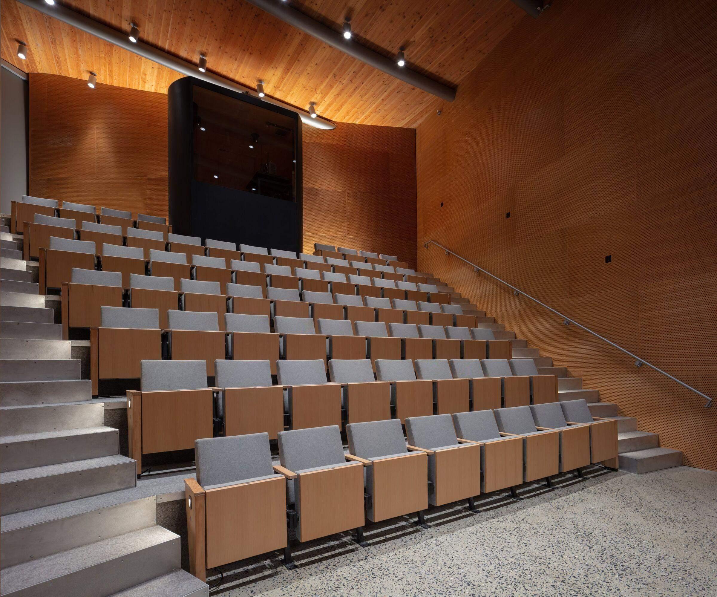 Кінотеатр будівлі візуальних мистецтв / Фото Archello