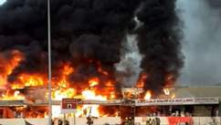 Масштабный пожар в ОАЭ: после рынка загорелась больница – все, что известно