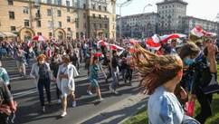 Десятки задержанных, женский марш: что происходило в Беларуси 26 сентября – фото, видео