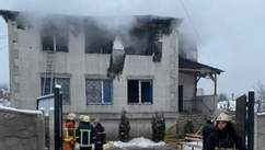 Пожежа у будинку престарілих у Харкові: все що відомо, фото, відео
