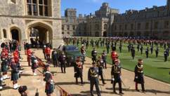 У Лондоні поховали принца Філіпа: як усе відбувалося – фото, відео