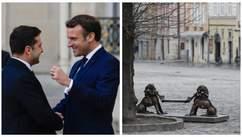 Головні новини 16 квітня: Зеленський зустрівся з Макроном, у Львові продовжили локдаун