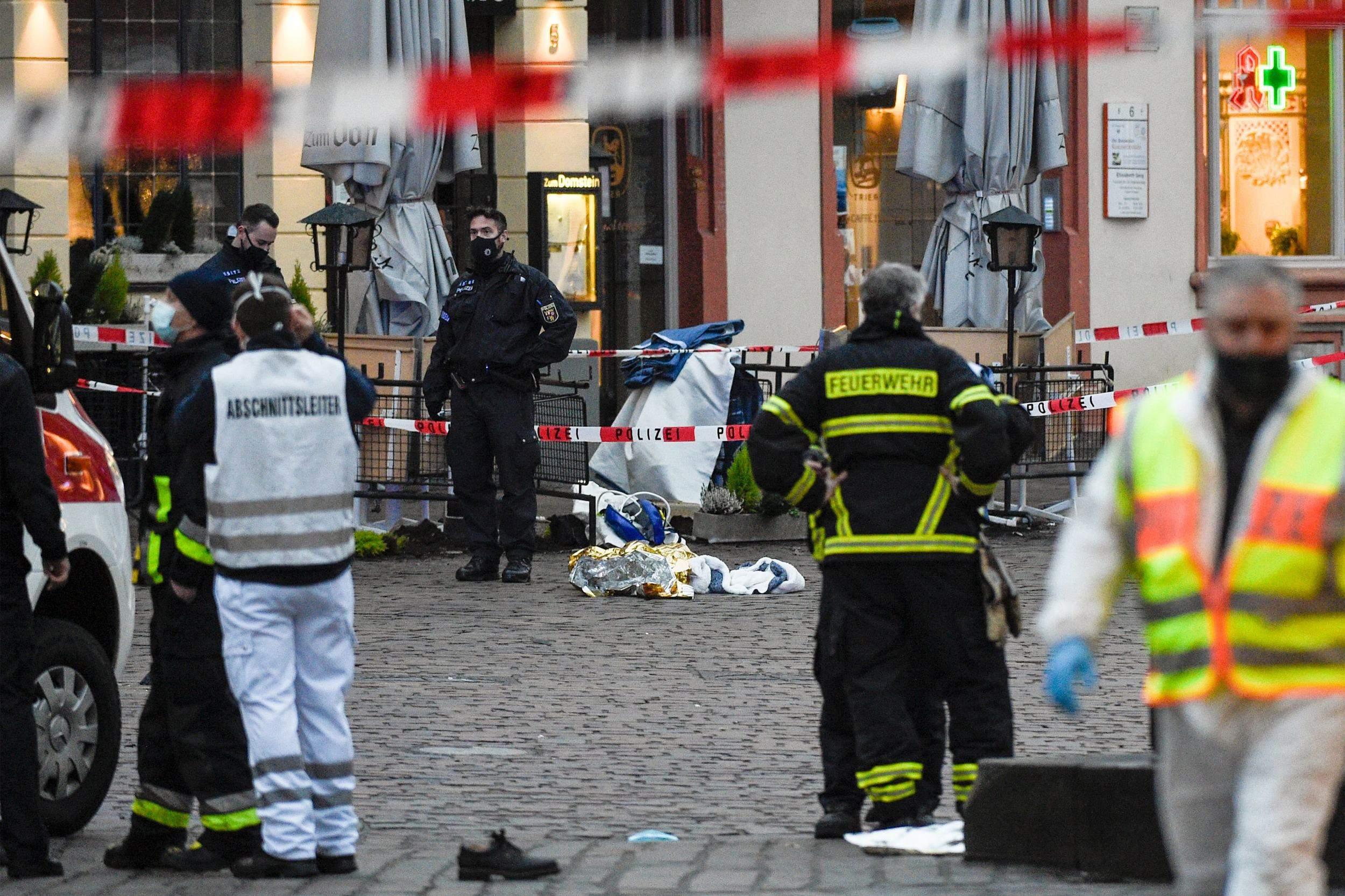 Німеччина Трір аварія пішоходи жертви