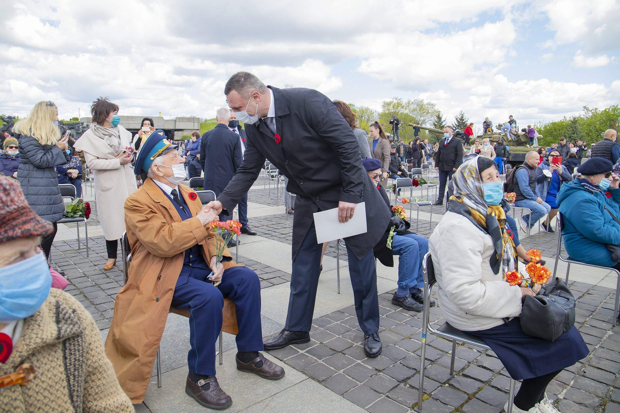 Віталій Кличко вшанував пам'ять про полеглих під час Другої світової війни